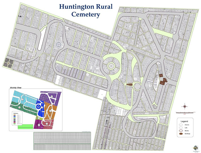 Records Management System Huntington Rural Cemetery Gateway Mapping Inc